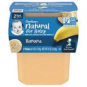 Gerber 2nd Foods Nature Select Bananas