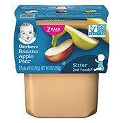 Gerber 2nd Foods Nature Select Bananas with Apples & Pears
