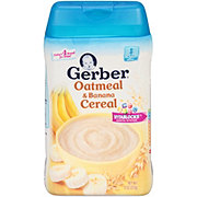 Gerber 2nd Foods Oatmeal & Banana Cereal