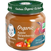 Gerber 2nd Foods Organic Apple Strawberry Beet
