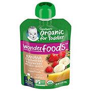 Gerber 2nd Foods Organic Fruit and Grain Banana, Red Berries & Granola Baby Food