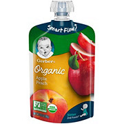 Gerber 2nd Foods Organic Pouches Apple Peach