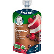 Gerber 2nd Foods Organic Pouches Apple Rasberry Acai Berry