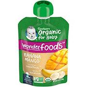 Gerber 2nd Foods Organic Pouches Banana Mango