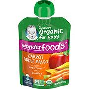 Gerber 2nd Foods Organic Pouches Carrot Apple Mango