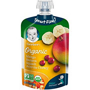 Gerber 2nd Foods Organic Pouches, Mango Banana Squash Acerola Cherry