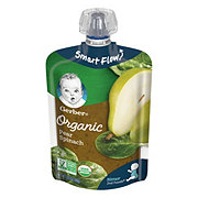 Gerber 2nd Foods Organic Pouches Pear Spinach