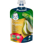 Gerber 2nd Foods Organic Pouches Pear Zucchini  Mango
