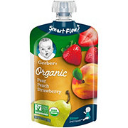 Gerber 2nd Foods Organic Pouches Pears Peaches Strawberries
