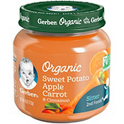 Gerber 2nd Foods Organic Sweet Potato Apple Carrot & Cinnamon