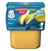 Gerber 2nd Foods Pears  2 pk