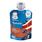 Gerber 2nd Foods Pouches Apple Blueberry