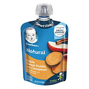 Gerber 2nd Foods Pouches Apple Sweet Potato with Cinnamon