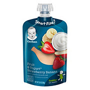 Gerber 2nd Foods Pouches Fruit & Yogurt Strawberry Banana