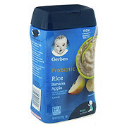 Gerber 2nd Foods Probiotic Rice Cereal, Banana Apple