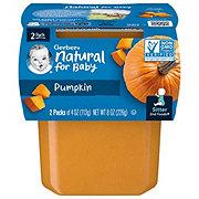 Gerber 2nd Foods Pumpkin 2 pk