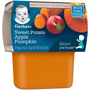 Gerber 2nd Foods Sweet Potato Apple Pumpkin 2 pk