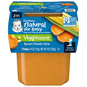 Gerber 2nd Foods Sweet Potato Corn  2 pk