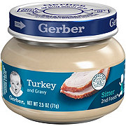 Gerber 2nd Foods Turkey and Gravy