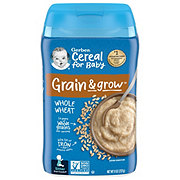 Gerber 2nd Foods Whole Wheat Whole Grain Cereal