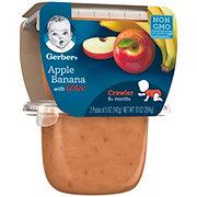 Gerber 3rd Foods Apple Banana with Lil Bits 2 pk