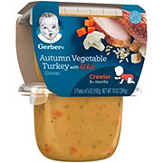 Gerber 3rd Foods Autumn Vegetable & Turkey Lil' Bits 2 pk