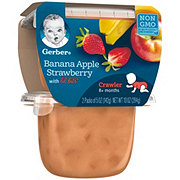 Gerber 3rd Foods Banana Apple Strawberry with Lil Bits 2 pk