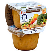 Gerber 3rd Foods Broccoli Carrots & Cheese with Lil Bits 2 pk
