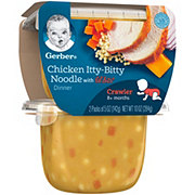 Gerber 3rd Foods Chicken Itty-Bitty Noodle With Lil' Bits 2 pk