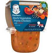 Gerber 3rd Foods Herbed Vegetable Pasta Chicken 2 pk