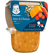 Gerber 3rd Foods Mac & Cheese With Lil' Bits 2 pk