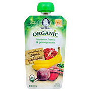 Gerber 3rd Foods Pouch, Organic Bananas Beets & Pomegranate