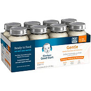 Gerber Good Start Gentle Milk-Based Ready to Feed Infant Formula with Iron (0-12 Months) Convenience Pack