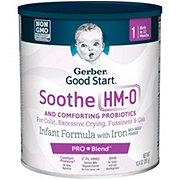 Gerber Good Start Soothe Infant Formula With Iron