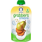 Gerber Grabbers Strong Pear & Sweet Potato, Greek Yogurt, Oats, Cinnamon