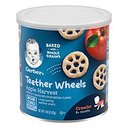 Gerber Graduates  Apple Wagon Wheels Finger Foods