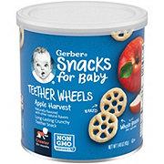 Gerber Graduates  Apple Wagon Wheels Finger Foods
