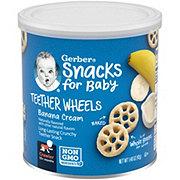 Gerber Graduates Banana Cream Waffle Wheels