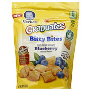Gerber Graduates Bitty Bites Multi-Grain Blueberry Nuggets