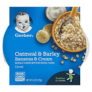 Gerber Graduates Breakfast Buddies Bananas & Cream Hot Cereal