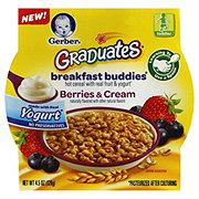 Gerber Graduates Breakfast Buddies Berries & Cream Hot Cereal