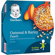 Gerber Graduates Breakfast Buddies Peach