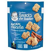 Gerber Graduates for Toddlers Cinnamon Graham  Animal Crackers