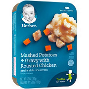 Gerber Graduates for Toddlers Lil' Entrees Mashed Potatoes and Gravy with Roasted Chicken