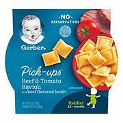 Gerber Graduates for Toddlers Pasta Pick-Ups Beef and Tomato Ravioli