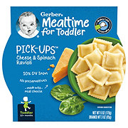 Gerber Graduates for Toddlers Pasta Pick-Ups Spinach and Cheese Ravioli
