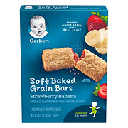 Gerber Graduates for Toddlers Strawberry Banana Cereal Bars