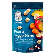Gerber Graduates Fruit and Veggie Melts Truly Tropical Blend