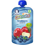 Gerber Graduates Grabbers, Apple Blueberry