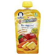 Gerber Graduates Grabbers Apple, Carrot & Pineapple Squeezable Fruit and Veggies